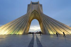 Azadi Tower (Freedom Monument) formerly known as Shahyad Tower, Iran by G&M Therin-Weise