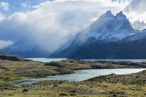 Cloud Formations over Lago Nordenskjold, Torres Del Paine National Park, Chilean Patagonia, Chile by G & M Therin-Weise