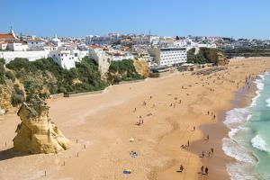 Fisherman Beach, Albufeira, Algarve, Portugal, Europe by G&M Therin-Weise