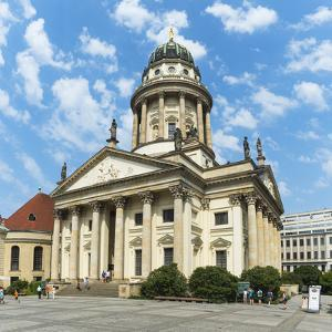 French Cathedral, Gendarmenmarkt Square, Berlin, Brandenburg, Germany, Europe by G & M Therin-Weise