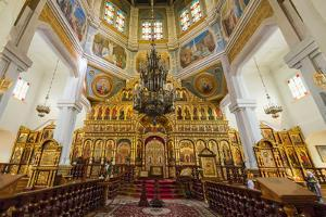 Interior, Ascension Cathedral (Zenkov Cathedral), Panfilov Park, Almaty, Kazakhstan, Central Asia, by G&M Therin-Weise