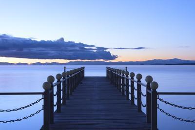 Lake Sevan, early morning, freshwater high-altitude lake, Gegharkunik Province, Armenia, Caucasus,