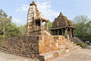 Lakshmi and Varaha Temples, Khajuraho Group of Monuments, Madhya Pradesh state, India by G&M Therin-Weise