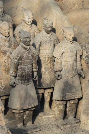 Museum of the Terracotta Warriors, Shaanxi Province, China