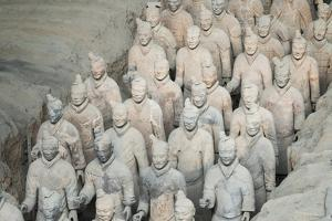 Museum of the Terracotta Warriors, Shaanxi Province, China by G & M Therin-Weise