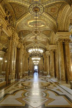 Opera Garnier, Frescoes and Ornate Ceiling by Paul Baudry, Paris, France by G & M Therin-Weise