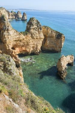 Ponta Da Piedade, Lagos, Algarve, Portugal, Europe by G&M Therin-Weise