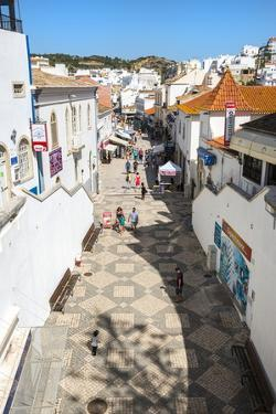 Rua 5 De Outobro, Albufeira, Algarve, Portugal, Europe by G&M Therin-Weise