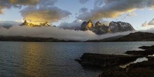 Sunrise over Cuernos Del Paine by G & M Therin-Weise