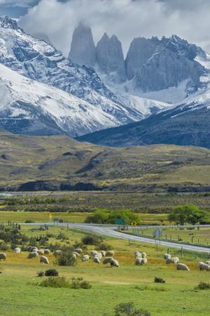 The Three Towers, Torres Del Paine National Park, Chilean Patagonia, Chile by G & M Therin-Weise