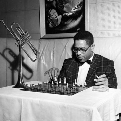 Dizzy Gillespie - 1955 by G. Marshall Wilson