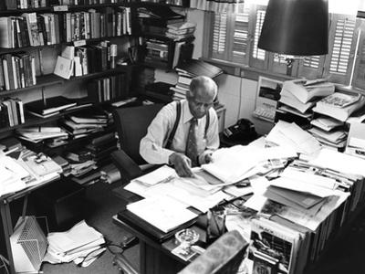 Dr. Benjamin E. Mays - 1977 by G. Marshall Wilson
