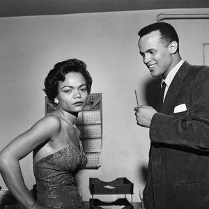Eartha Kitt and Harry Belafonte by G. Marshall Wilson