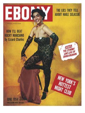 Ebony June 1954 by G. Marshall Wilson