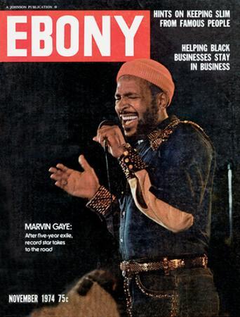 Ebony November 1974 by G. Marshall Wilson