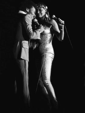 Herb Fame And, Linda Green, Reunites, April 1979 Photo by G. Marshall Wilson