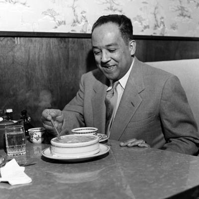Langston Hughes by G. Marshall Wilson