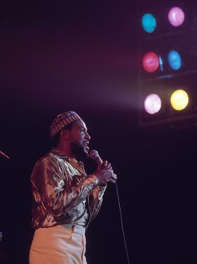 Marvin Gaye - 1974 by G. Marshall Wilson
