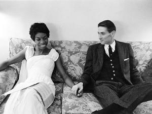 Nina Simone and Don Ross - 1959 by G. Marshall Wilson