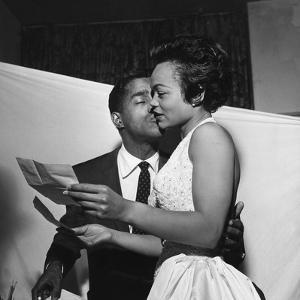 Sammy Davis Jr., Eartha Kitt - 1954 by G. Marshall Wilson
