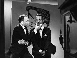 Sammy Davis Jr., Frank Sinatra by G. Marshall Wilson