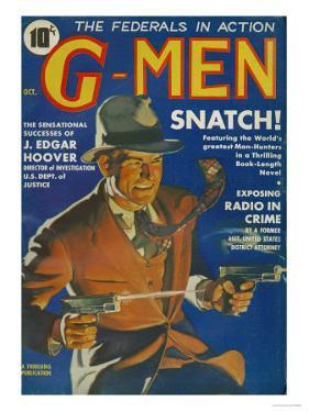 G-Men, FBI Detectives Pulp Fiction Magazine, USA, 1935