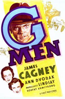 'G' Men - Movie Poster Reproduction