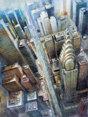 Manhattan from the Clouds I by G.p. Mepas