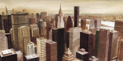 New York Skyline I by G.p. Mepas