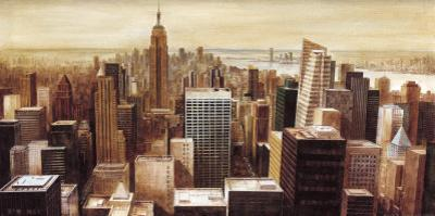 New York Skyline II by G.p. Mepas