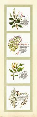 Kitchen Herbs I by G. Phillips