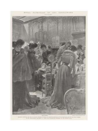Royal Patronage of Art Needlework