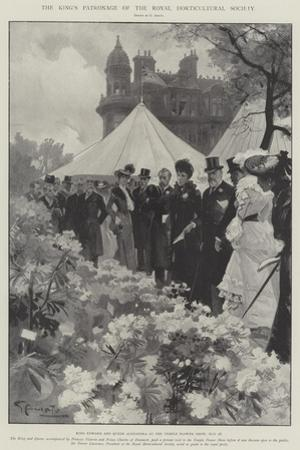 The King's Patronage of the Royal Horticultural Society by G.S. Amato