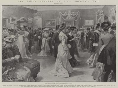 The Royal Academy of 1902, Society's Day by G.S. Amato