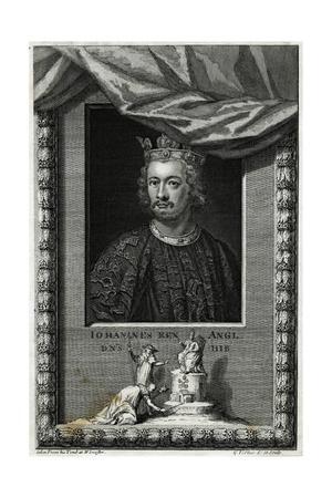 King John, Vertue, Tomb