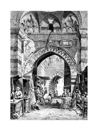 Between Khan El-Khalil, Egypt, 1881