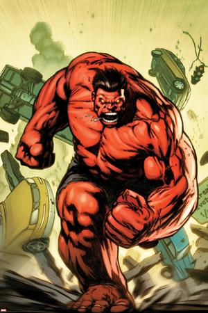 Hulk No.30.1 Cover: Rulk Charging by Gabriel Hardman