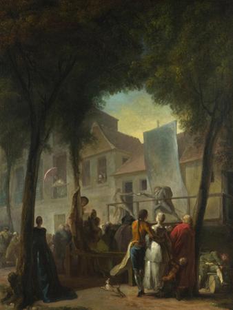 A Street Show in Paris, 1760