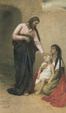 Jesus Depicted as a Healer by Gabriel Max