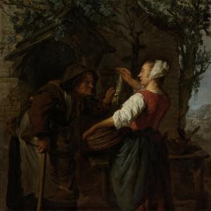 Herring-Seller by Gabriel Metsu
