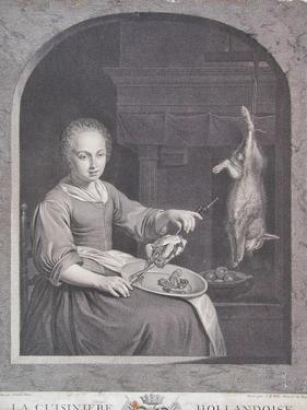 La Cuisiniere Hollandoise by Gabriel Metsu