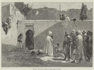 Capture of the Kasbah of Arbaa by Berber Troops in Morocco by Gabriel Nicolet