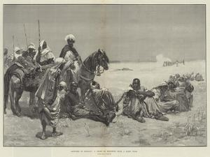 Sketches in Morocco, a Chain of Prisoners from a Rebel Tribe by Gabriel Nicolet