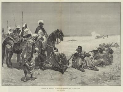 Sketches in Morocco, a Chain of Prisoners from a Rebel Tribe