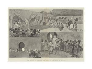 The Maghzen at Mequinez, the Court of the Sultan of Morocco by Gabriel Nicolet
