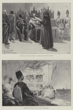 The Visit of the Shah by Gabriel Nicolet