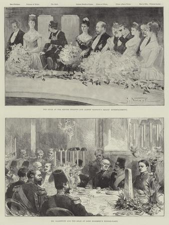 The Visit of the Shah