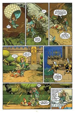 Little Nemo: Return to Slumberland - Comic Page with Panels by Gabriel Rodriguez