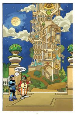 Little Nemo: Return to Slumberland - Full-Page Art by Gabriel Rodriguez