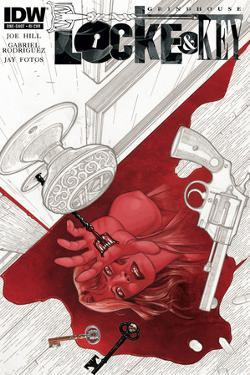 Locke and Key: Grindhouse - Cover Art by Gabriel Rodriguez